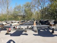 Semi remorque porte containers Asca Squale fixe 3 essieux