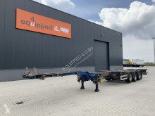 Semi remorque Pacton 45FT HC multi (3x extendable), liftaxle, BPW, NL-chassis porte containers occasion