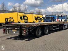 PLATEAU TRAILER / SAF-ASSEN / STUUR-AS semi-trailer used flatbed
