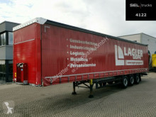 Schmitz Cargobull SCS SCS 24/L 13.62 EB / EDSCHA / XL Code / Liftachse Auflieger gebrauchter Pritsche und Plane