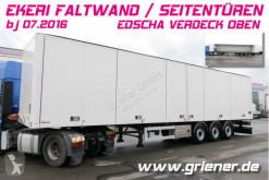 Box semi-trailer EKERI FALTWANDKOFFER seitliche türen EDSCHA !!!!