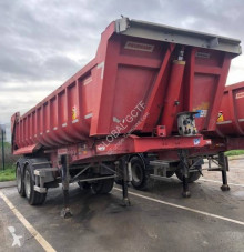 Fruehauf semi-trailer used construction dump