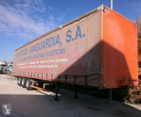 Trouillet semi-trailer used tarp