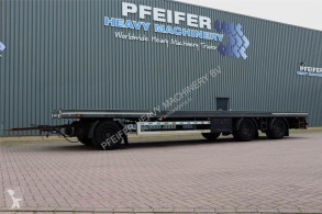 GS Meppel flatbed trailer AV-2700 P 3 Axel Container Trailer