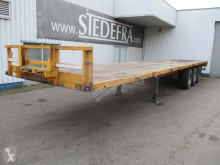 Groenewegen flatbed semi-trailer DRO-12-24 , , Spring suspension