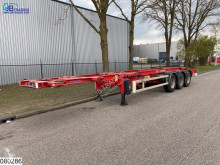 Trailer Asca Chassis 2x 20 - 40 - 45 FT container chassis tweedehands containersysteem