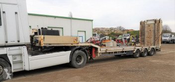 Trax DOUBLES RAMPES ARRIERES DERNIER ESSIEU SUIVEUR semi-trailer used heavy equipment transport