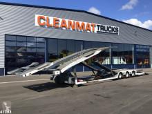 Släp biltransport Lohr truck transporter