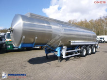 Semirremolque Magyar Fuel tank inox 37.5 m3 / 7 comp cisterna usado