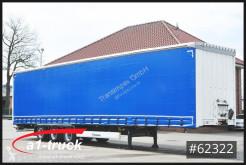 Semi reboque Krone SD Mega Tautliner, BPW Achse, neue Plane caixa aberta com lona usado