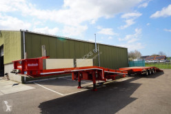 Semi remorque Nooteboom EXTENDABLE SEMI LOW LOADER WITH RAMPS porte engins occasion
