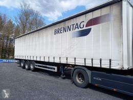 Pacton tautliner semi-trailer MET ONDERSCHUIFKLEP D'HOLLANDIA+2 LIFTASSEN