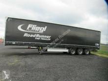 Fliegl tautliner semi-trailer Gardine Standard, Lift, SAF Scheibe, Holzboden