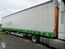 Fliegl tautliner semi-trailer Gardine Mega, Hubdach, 12642XL