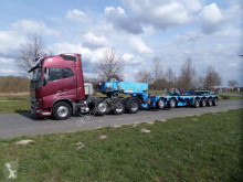 Faymonville heavy equipment transport semi-trailer STBZ 6VBA 2+4 Low Loader with Spinbed and Spacer