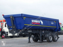 Semi remorque Schmitz Cargobull TIPPER 25 M3 /WHOLE STEEL / 2 AXES / SAF / benne occasion