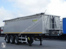 Zasław tipper semi-trailer TIPPER 36 M3 / LIFTED AXLE / PERFECT CONDITION