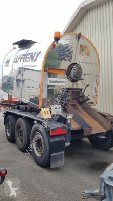 Lueck Grün Lueck Thermokoffer semi-trailer used Tar tanker