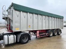 Semitrailer Benalu 50m³ GROSS VOLUME ALU KIPPER / BIG VOLUME TIPPER -- AIR SUSPENSION / LUFTFEDERUNG - TROMMELBREMSEN / DRUM BRAKES flak begagnad
