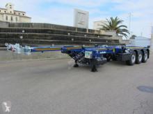 Naczepa do transportu kontenerów Lecitrailer Multiconteneur extension pneumatique