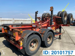 Renders Skelet 20 ft semi-trailer used container