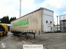 Fruehauf full steel frame tri axle 34 ton with lifting roof semi-trailer used tautliner