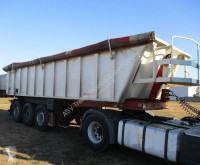 Benalu tipper semi-trailer 27m3, Voll AL, Luft/Lift