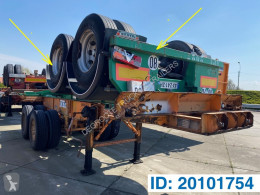 Container semi-trailer Skelet 20 FT