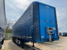 Fruehauf flatbed semi-trailer CR 608 TQ OPEN BOX C+ Twist lock et rancher