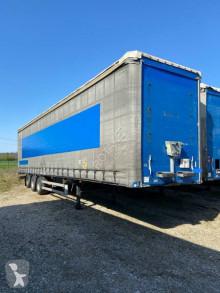 Trailer Samro Mega 3 essieux DISPO tweedehands Schuifzeilen