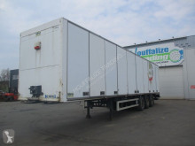 Lecitrailer box semi-trailer used