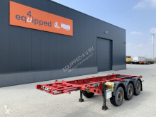 Krone container semi-trailer 20FT/3-axle, liftaxle, discbrakes, empty weight: 3.620kg