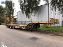 Návěs nosič strojů Kaiser Lowbed 57000 KG, Steel suspension, Lowbed, B 2,53 + 2 x