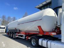 Návěs cisterna práškový Feldbinder KIP 60.3, Leichtmetallfelgen