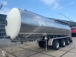 Sættevogn Magyar Milk Trailer 1 Kamer 34.000 L | RVS Lebensmitteltank citerne brugt