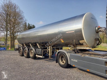 Maisonneuve Foodstuff tank in stainless steel insulated semi-trailer used food tanker