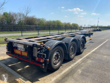 Lecitrailer Surbaissé squale multiposition semi-trailer used container