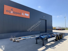 Semi remorque porte containers Schmitz Cargobull 45FT HC, 2x extendable, SAF+ DISC, liftaxle, NL-chassis, APK 08/2021