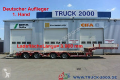 Faymonville heavy equipment transport semi-trailer F-S44-1ALN Radmulden 4-Achsen Lift + Lenk NL:57T