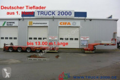Goldhofer heavy equipment transport semi-trailer STZ-L 4-34 Länge bis 13m Twist Lock Lift Lenk
