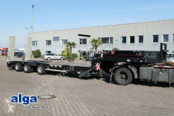 Langendorf heavy equipment transport semi-trailer SATUE 30/38, 2x Radmulde, 13mtr. lang, Rampen