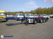 Dennison 4-axle container combi trailer (3 + 1 axles) 20-30-40-45 ft semi-trailer used container