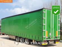 Van Eck tautliner semi-trailer OT-3L Mega Aircargo Rollenbed