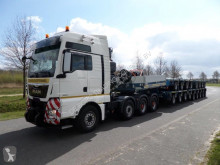 Goldhofer heavy equipment transport semi-trailer S-THP SH35 Universal Gooseneck +THP SL 3 + THP SL 4 + THP SL 6