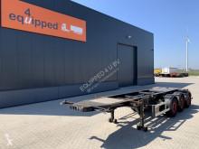 Sættevogn Burg 20FT/30FT ADR-chassis, empty weight: 3.400kg, SAF INTRADISC, 2x liftaxle, NL-chassis, APK/ADR: 05/2021 containervogn brugt