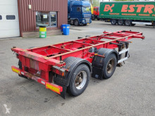 Semi remorque porte containers Lecitrailer 20FT BPW - - Widespread - Steel Suspension (O597)