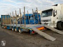 Heavy equipment transport semi-trailer RAUW-MEGA-ALU RUNGEN-RAMPEN-CONTAINERVERSCHL