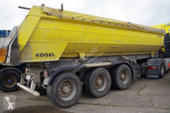 Kögel half-pipe semi-trailer Benne enrochement 2 essieux