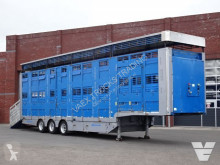 Trailer Michieletto 3 Stock Livestock trailer tweedehands veewagen voor runderen