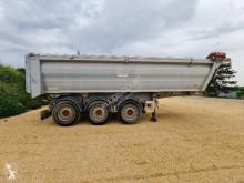 Tisvol semi-trailer used construction dump